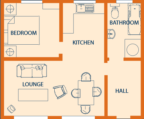 Poplar Lodge Floor Plan