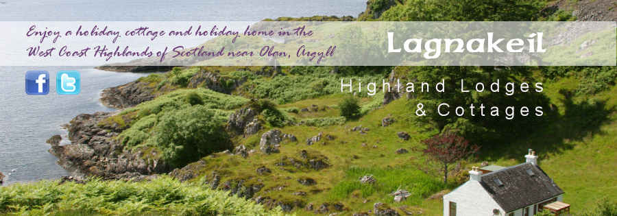 Enjoy a holiday cottage in the west coast of scotland with Lagnakeil, Oban